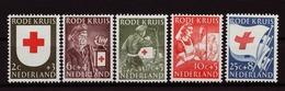 Nederland - Niederlande - Pays Bas NVPH 607 T/m 611 MH * (1953) - Nuevos