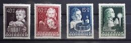 Österreich 1949, Kindheit ANK 941-44, MNH Postfrisch - 1945-.... 2. Republik