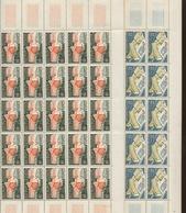 1177-1178 Feuilles De 50 Ex.  Cote. 22,50 + - Full Sheets