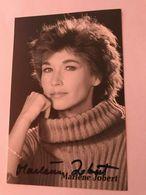 Marlene Jobert Actress Photo Autograph Hand Signed Authentic 10x15 Cm - Fotos Dedicadas