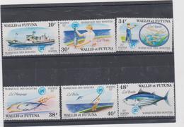 WALLIS ET FUTUNA Sèrie Complète 6 T Neufs Xx  N° YT 226 à 231 - 1979 - Pêche à La Bonite - Nuovi