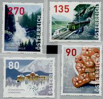 Austria Österreich 2018 , Dispenser-Marken, 4 Werte Postfrisch/MNH/**, 4. Auflage - 1945-.... 2. Republik