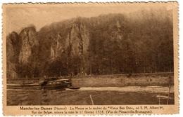 MARCHE-LES-DAMES - La Meuse Et Le Rocher Du Vieux Bon Dieu - Namur
