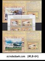 CONGO - 2006 TRANSPORT / AVIATION - Set Of 3-Miniature Sheets MNH - Repubblica Democratica Del Congo (1997 - ...)