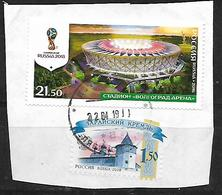 2016 FIFA Football World Cup 2018, Russia - Stadiums Used - Oblitérés