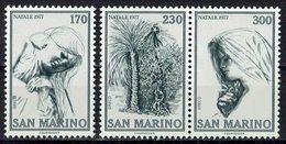 *San Marino 1977 // Mi. 1150/1152 ** - Navidad
