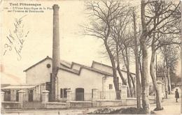 54 - TOUL - Carte Postale écrite Par 1er SAPEUR-AÉROSTIER L. PORTRÉ (dirigeable Adjudant VINCENOT) - Usine Frigorifique - Toul