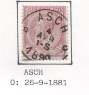 REF89/ TP 46 C.Asch Relais Etoile 4 AVR 1-S 1890 - Bolli A Stelle
