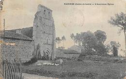 Razines          37        L'ancienne église        (Déchirure Voir Scan) - Autres Communes