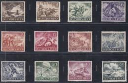 DR   831-842, Postfrisch **, Tag Der Wehrmacht 1943 - Deutschland
