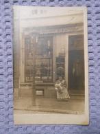 Cpa Photo Boulangerie A . MAGNERY  à Situer Carte Dans Lot Région Verviers Dison Herve - Winkels