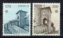 *San Marino 1978 // Mi. 1156/1157 ** - Europa-CEPT