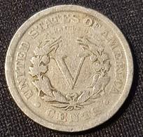 USA 5 Cents 1910 - 1883-1913: Liberty
