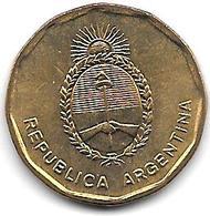 *argentina 10 Centavos 1987 Km 98 Bu - Argentine