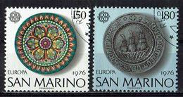 *San Marino 1976 // Mi. 1119/1120 O - Europa-CEPT