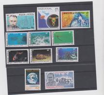 WALLIS ET FUTUNA Lot 11 T Neufs Xx N° YT 265 à 275 - 1981 - Wallis-Et-Futuna