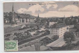 St Gallen Westquartier Mit Rosenberg - Bahn - SG St. Gallen