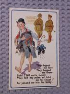Cpa BRITISH,postcard Illustrated Illustrateur - 1900-1949