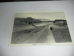 Riemst Kanne:canne  Canal Albert Avec Pont - Riemst