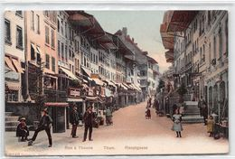 Rue à Thoune - Thun - Hauptgasse - BE Berne