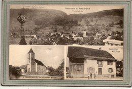 CPA - BENDORF (68) - Carte Multivues Avec éolienne Et Restaurant Alf. Juen En 1924 - Other Municipalities
