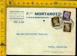 Alessandria Casale Monferrato Ditta Fratelli Mortarotti - Alessandria