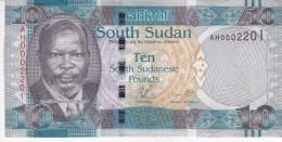 SOUTH SUDAN 10 POUND 2011 P-7 UNC */* - South Sudan