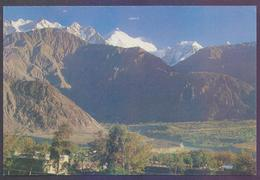 PAKISTAN PICTURE POST CARD - PIA Pakistan International Airlines, RAKAPOSHI Mountains, Unusued - Pakistan