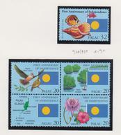 Palau Jaar 1994 Michel-nr.947/950 In Blok Van 4 + 951 **/MNH - Palau