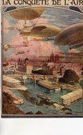 La Conquete De L'Air  -  Publicité   -  Carte Postale - Globos
