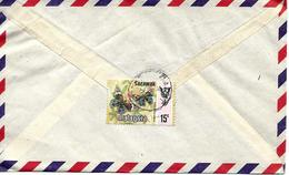 Sarawak Sur Lettre Vers Singapore. Cover, Brief Voir 2 Scan - Malesia (1964-...)