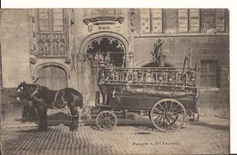 BRUGGE BRANDWEER 1908 Stempel-  Fourgon 2me   Escouade 6/259 D4 - Brugge