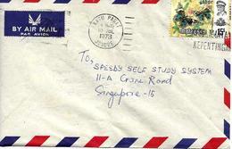 Johore Sur Lettre Vers Singapore, Flamme 1978. Cover, Brief - Malesia (1964-...)