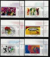 BUND Mi-Nr. 2117 - 2122 Eckrandstücke Rechts Oben Jugend: EXPO 2000 Gestempelt (2) - BRD