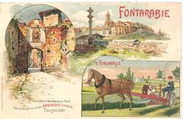 TOULOUSE  - FONTARABIE - HIRONDELLE  ( H Garonne )  PUB  FAUCHEUSE  ARMOUROUX FRERES - Toulouse