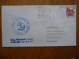 (2) Schiffpost ShipmaiL* B.S.L. RHONE ( A-622) 1967 - Boten