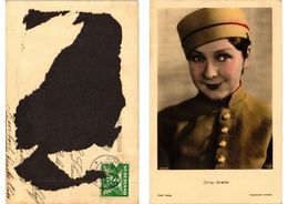 CPA AK Dina Gralla Ross Verlag 6345/1 FILM STAR (548445) - Attori