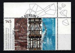BUND Mi-Nr. 3299 Eckrandstück Rechts Oben Gestempelt - BRD