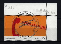 BUND Mi-Nr. 2164 Eckrandstück Rechts Oben Gestempelt - BRD
