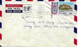 Lettre Vers Singapore 1984 Flamme. Cover, Brief - Malesia (1964-...)