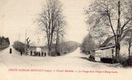Coupe Gordon-Bennett (1905)  -  Circuit Michelin  - Le Virage De LaVierge A BOURG-LASTIC - CPA - Autres Communes