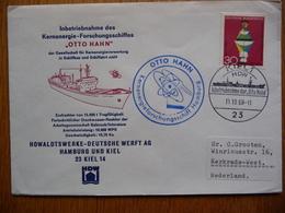 (2) Schiffpost ShipmaiL*KERNENERGIE FORSCHUNGSSCHIFFES OTTO HAHN 1968 - Boten