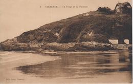 CPA Carteret - La Plage Et La Falaise - Carteret