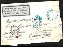 658 - NEDERLAND - BATAVIA - 1846 - COVER - FORGERY, FALSE, FAKE, FAUX, FALSO, FALSC - Briefmarken