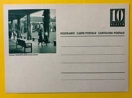 9638- Entier Postal Illustration Solbad Rheinfelden Kurbrunnen Neuf - Enteros Postales