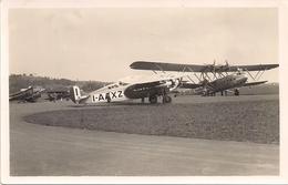 Aviation - Avion Fokker I-AAXZ + Handley-Page G-AAXE - Basel-Sternenfeld - 1919-1938: Entre Guerres
