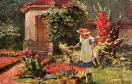 Enfant Illustré 440, Jardin Arrosoir - Children's Drawings