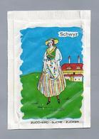 Suikerzakje.- SCHWYZ - SCHAFFHAUSEN. G. PERPELLINI - LOSONE. Zwitserland. Suisse. Sugar Sucre Zucchero Zucker - Suiker