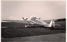 Aviation - Avion St-4 Monospar - Bimoteur Anglais - Lausanne-Blécherette - Aviation