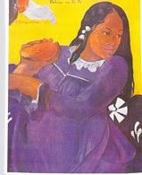 Polynésie Française-PAUL GAUGUIN La Femme Au Mango Vahiné No Te Vi (Photo Teva Sylvain Tahiti 930  @ *PRIX  FIXE - Polynésie Française